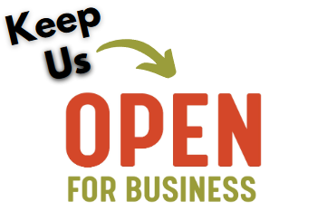 Graphic: Keep us open for business